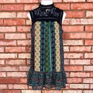 City Triangles boho frills festival dress